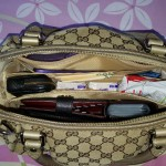 Purse Organizer Insert for Gucci Sukey Medium Top Handle Bag (Photo)2
