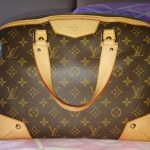 Purse Organizer Insert for Louis Vuitton Monogram Canvas Retiro (Photo)1